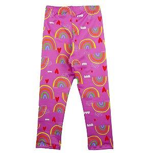 Legging FPU 50+ Arco Íris Multicolorido