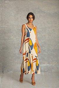 Vestido Midi Regata - Tucanitus
