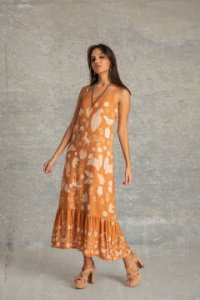 Vestido Midi - Bonjú