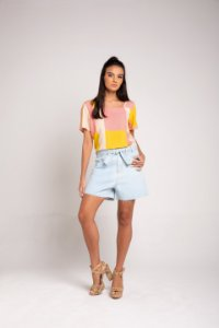 T-shirt Cropped - Glam