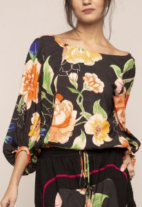 BLUSA CROPPED FLORASE