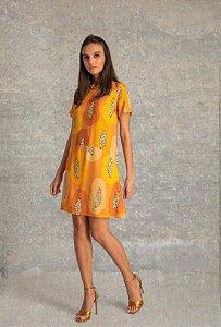 Vestido curto - Papaya