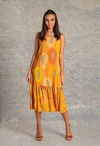 Vestido Midi - Papaya