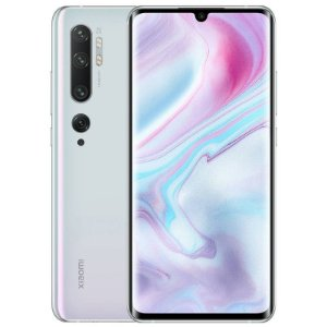 "Smartphone Xiaomi Mi Note 10, 128GB, 108MP, Tela 6.7"", Branco Glacier White"
