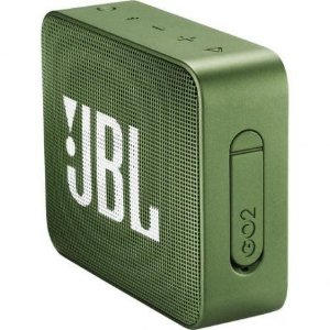 Caixa de Som JBL Go 2, Bluetooth, À Prova D´Água, 3W, GRN - JBLGO2GRN