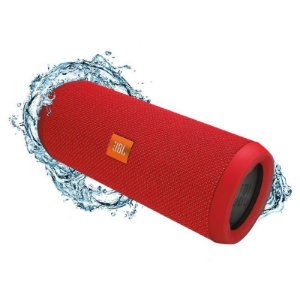Caixa de Som JBL Flip 5, Bluetooth, 20W RMS, à Prova D´Água,Vermelha - JBLFLIP5REDAM