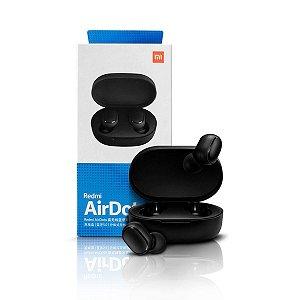 Fone de Ouvido Bluetooth Xiaomi Redmi AirDots, com Microfone, Recarregável