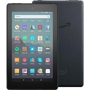 "Detalhes do produto: Amazon: Tablet Amazon Fire 2019 7"" 16GB Preto-B07FKR6KXF"