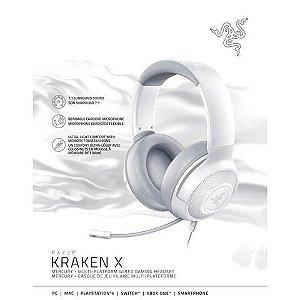 Fone de ouvido gamer Razer Kraken X mercury