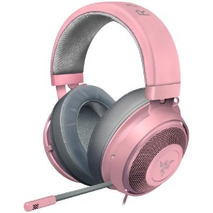 Headset Gamer Razer Kraken Multi Platform, Drivers 50mm, Quartz Pink - RZ04-02830300-R3M1