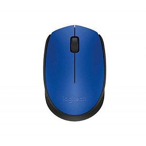 Mouse Sem Fio M170 Logitech Azul