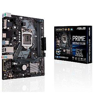 Placa-Mãe Asus Prime H310M-E R2.0/BR, Intel LGA 1151, mATX, DDR4