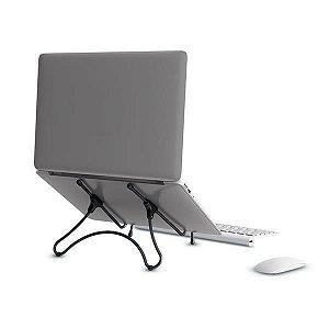 Suporte Ergonomico Para Notebook E Tablet Multilaser Preto