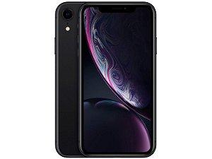 "iPhone XR 64GB Preto Tela 6.1"" iOS 12 4G 12MP - Apple"