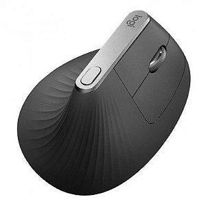 Mouse Vertical Ergonomico Logitech Recarregavel Bluetooth