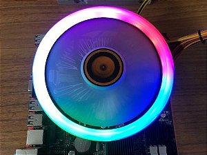 Cooler Para Cpu Gamer 120mm Rgb Intel 1155 1151 1150
