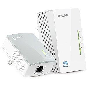 Extensor de AlcanceTP-Link WiFi Powerline, Edição 300Mbps WiFi e AV 500Mbps - TL-WPA4220KIT