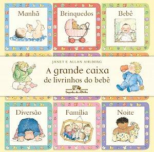 GRANDE CAIXA DE LIVRINHOS DO BEBE