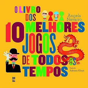 LIVRO DOS 10 MELHORES JOGOS DE TODOS OS TEMPOS, O