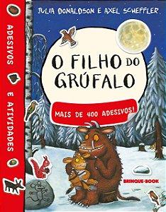 FILHO DO GRUFALO, O - Livro De Adesivos