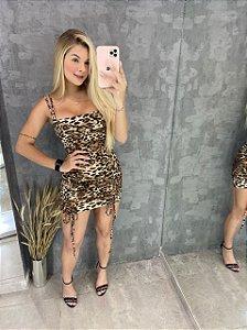 Vestido Gringa Animal Print