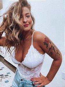 Body Renda Alcinha