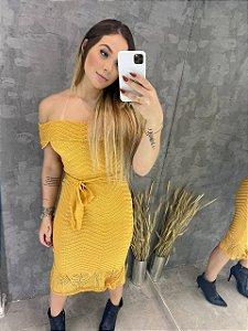 Vestido Midi Trico