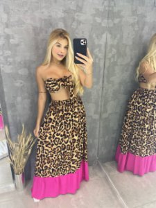Conjunto Animal Print Colors