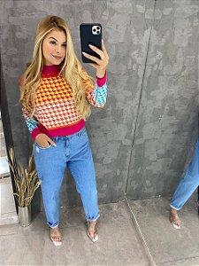 Calça Mom Jeans Clara