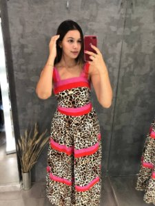 Vestido Animal Print Colors