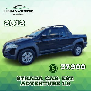 FIAT STRADA CAB. EST. Adventure 1.8 16V (Flex)