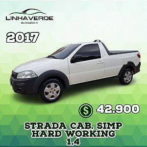 FIAT STRADA CAB. SIMPLES Hard Working 1.4