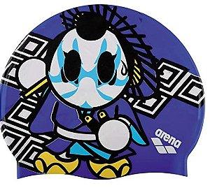 Touca p/ Natação Junior  Kun Cap Samurai  - Arena