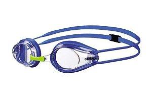 Óculos Infantil  Arena Tracks Junior - azul transparente