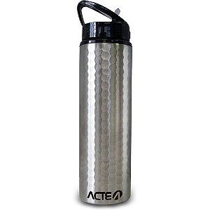 Squeeze Prata  Aço Inox 750ml  Acte