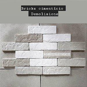 Brick cimentício