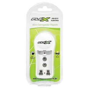 Carregador De Pilhas AA AAA 9V Flex - FX-C11
