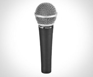 Microfone com fio TSI PRO BR