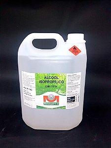 Álcool isopropílico 5 litros