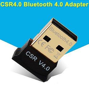 Mini Adaptador Bluetooth Csr Ver. 4.0