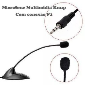 Microfone De Mesa Para Pc Notebook