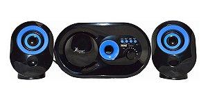 Caixas De Som Bluetooth Knup Kp-6013 16 W Rms 2.1
