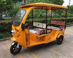 Triciclo de Passageiro  Elétrico com Recarga Solar - 110 Km de autonomia