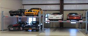 Elevador automotivo de 4 colunas para 4 carros