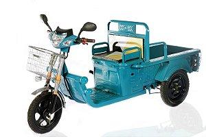 Triciclo Eletrico de  carga compacto capac. 250 Kg