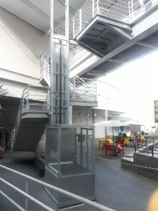 Elevador Residencial de acessibilidade  para idoso ou deficiente eleva 4.0 m