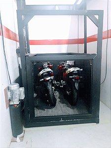 Elevador de Carga para 500 kg  Elevação de 5.0 m