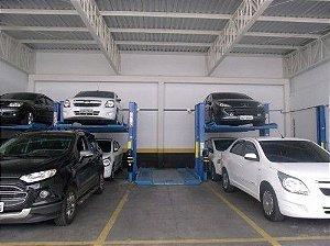 Elevador Automotivo Duplicador de Estacionamento de 2 Colunas
