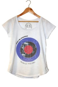 pinball wizard - Camiseta feminina da linha básica - malha flamê 100%