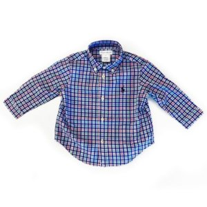 Ralph Lauren Camisa Azul Xadrez